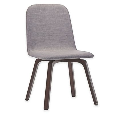 Modway Assert Dining Side Chair in Walnut Grey