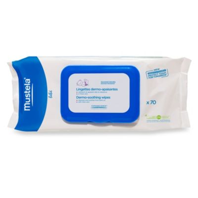 Mustela® Bébé Cleansing and Soothing Wipes (70-Count)