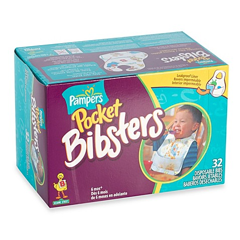 Pampers® Extra-Large Pocket Bibsters (32-Count)