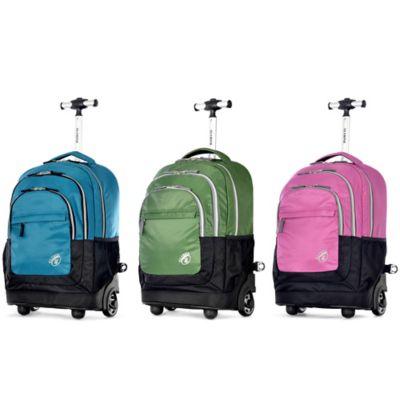 Olympia® Gen-X 19-Inch Rolling Backpack in Black