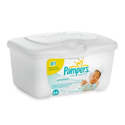 64-Count Sensitive Wipes