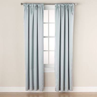 Linnea 63-Inch Rod Pocket/Back Tab Window Curtain Panel in Linen