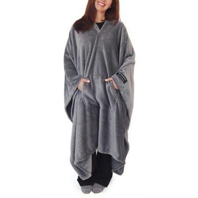 Grey Blue Outdoor Blanket