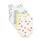 Rosie Pope® Sweet Lemons Size 6-9M 5-Pack Bodysuits in Assorted Prints