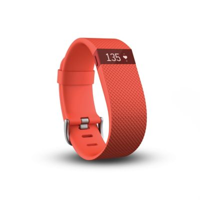 Fitbit® Charge HR Small Wireless Heart Rate and Activity Wristband in Tangerine