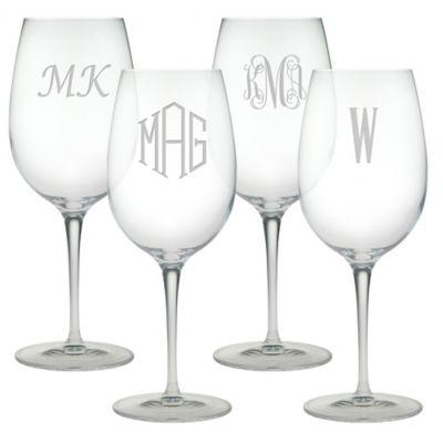 Susquehanna Glass Bordeaux Wine Glasses (Set of 4)