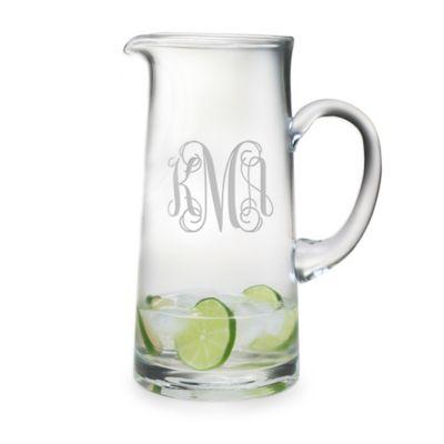 Susquehanna Glass Tankard Pitcher
