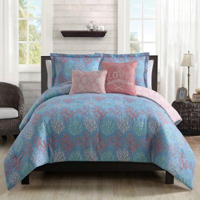Venice Beach 5-Piece Twin Comforter Set