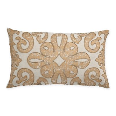 Gold Feather Pillows