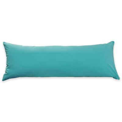 Equip Your Space Body Pillow Cover in Aqua Blue