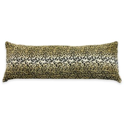 Equip Your Space Body Pillow Cover in Cheetah