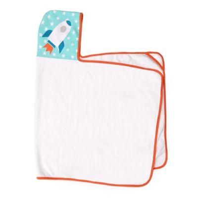 JJ Cole® Rocket Hooded Towel