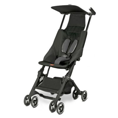 Strollers > GB Pockit Stroller in Monument Black