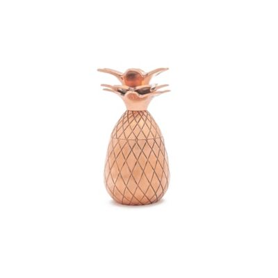 The Pineapple Co. Pineapple Shot Glasses in Copper (Set of 2)