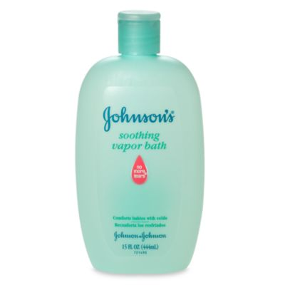 Johnson's® 15-Ounce Soothing Vapor Bath - from Johnson & Johnson