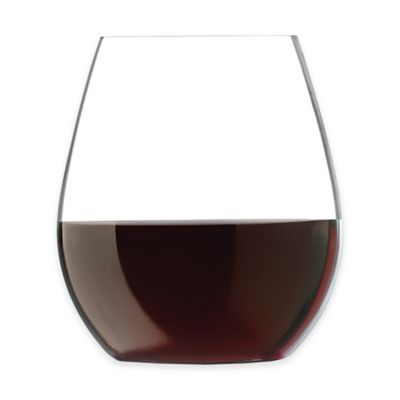 Libbey® Glass Perfect Signature™ Auden Stemless Red Wine Glasses (Set of 2)