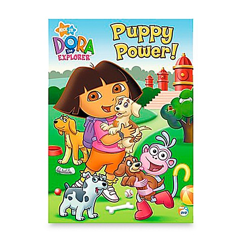 DVD Dora The Explorer in Puppy Power