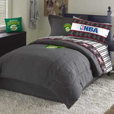 NBA Seattle Supersonics Standard Sham