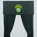 NBA Seattle Supersonics Valance, 100% Cotton