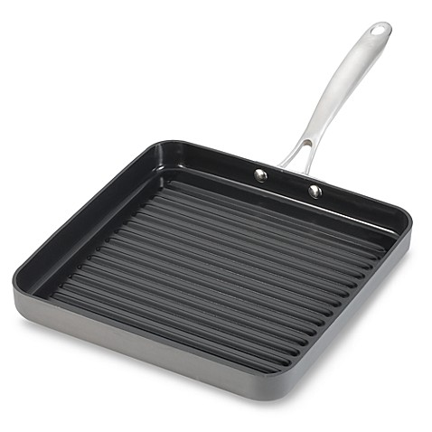 Cuisinart® Non-Stick Hard Anodized Green Gourmet 11-Inch Grill