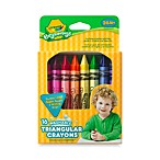 Crayola® Beginnings™ 16-Count Washable Triangular Crayons