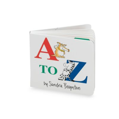 A to Z Book - from Sandra Boynton
