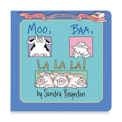 Moo Baa LaLa Book by Sandra Boynton