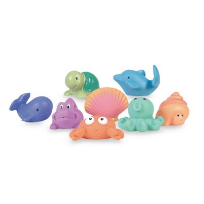 Elegant Baby® 8-Pack Sea Party Bath Squirties