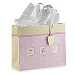 Extra Large Embellished Gift Bag in Sugar and Spice