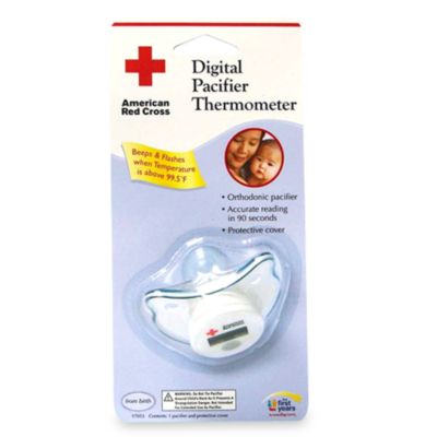 The First Years American Red Cross Digital Pacifier Thermometer
