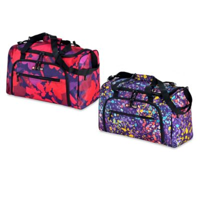 Pink Paint Duffle Bags