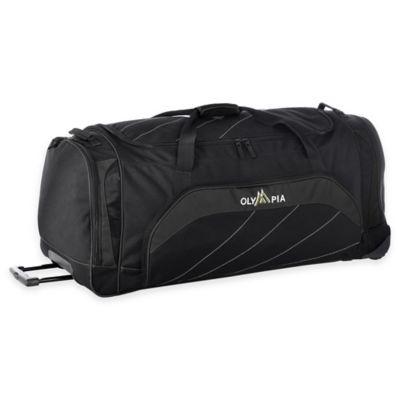 Olympia® 40-Inch Jumbo Rolling Duffle in Black