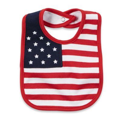 carter's® Flag Bib in Red/White/Blue