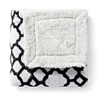 VCNY Chantal Jacquard Throw Blanket in Black