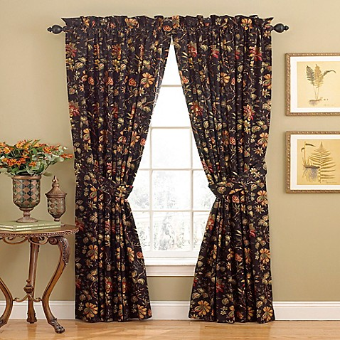 Waverly Felicite 84 Inch Rod Pocket Window Curtain Panel