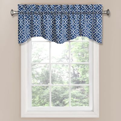 Waverly® Lovely Lattice Window Valance in Natural