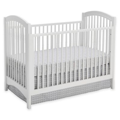Sealy® Batavia 3-in-1 Standard Crib in White