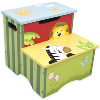 Teamson Fantasy Fields Sunny Safari Kids Step Stool