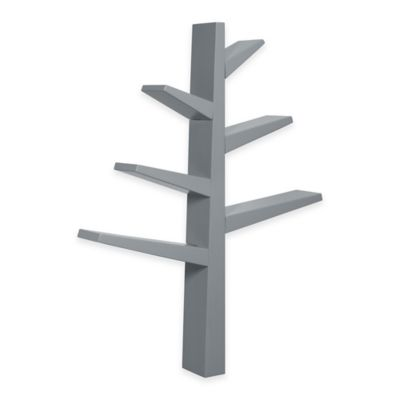 Babyletto Spruce Tree Bookcase in Grey