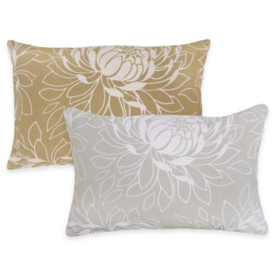 Park B. Smith® The Vintage House Lotus Oblong Throw Pillow in Linen