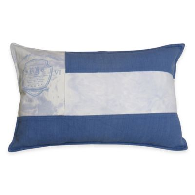 Decorative Pillow Makers : Park B. Smith Vintage House Sail Maker Oblong Throw Pillow - Bed Bath & Beyond