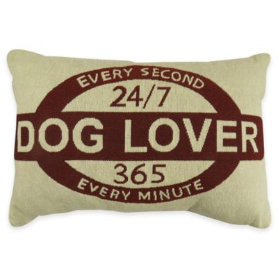 Park B. Smith® The Vintage House Every Minute Oblong Throw Pillow in Natural