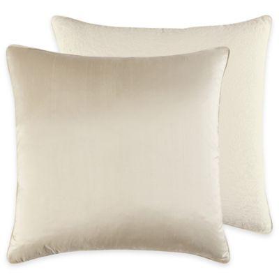 Croscill Couture® Hepburn European Pillow Sham in Ivory
