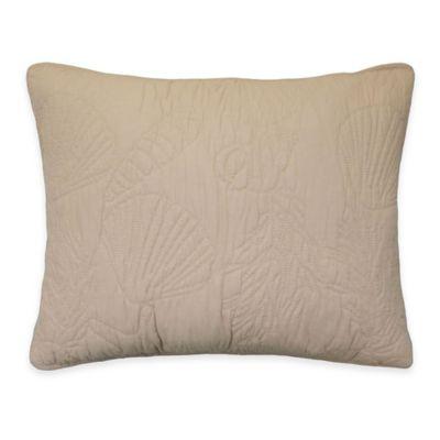 Ocean View Standard Pillow Sham in Yellow