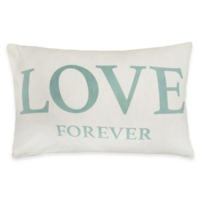 Park Love You Oblong Throw Pillow