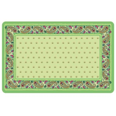 The Softer Side by Weather Guard™ 18-Inch x 27-Inch Spring Paisley Kitchen Mat