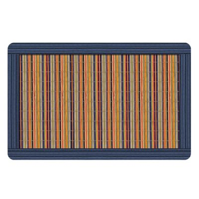 Blue Kitchen Mat