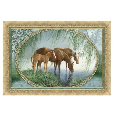 The Softer Side by Weather Guard™ 23-Inch x 36-Inch Stream Break Kitchen Mat