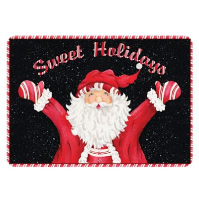 The Softer Side by Weather Guard™ 18-Inch x 27-Inch Sweet Holidays Kitchen Mat