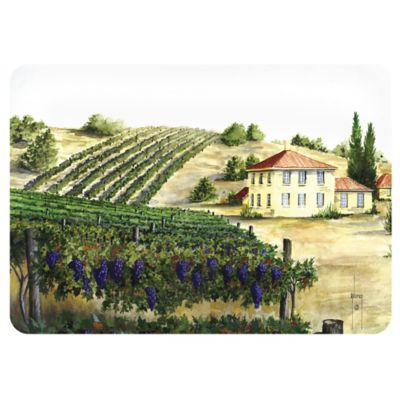 The Softer Side by Weather Guard™ 18-Inch x 27-Inch Tuscan Vineyard Kitchen Mat